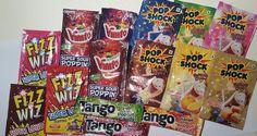 Orange Candy, Cherry Candy, Retro Sweet Hampers, Personalized Birthday Banners, Rainbow Ice Cream, Sweet Cones, Candy Brands, Retro Sweets, Sweet Box