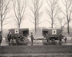 World War I Ambulances    Repinned by www.eddiemercer.com in Pensacola, FL
