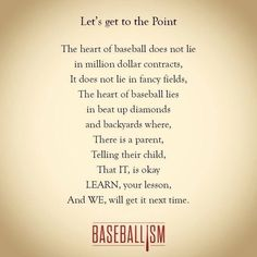 Lessons Learned from Little League Baseball - A Sparkle of Genius Baseball Crafts, Baseball Games, Baseball Stuff, Baseball Live, Baseball Party, Baseball Field, Baseball Sister, Baseball Wall, Baseball Training