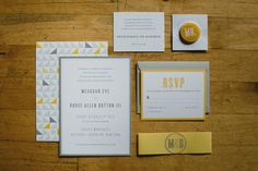 Modern Yellow Warehouse Wedding on the Brooklyn Waterfront | Images by With Love and Embers