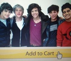 Yes I'll take One Direction please