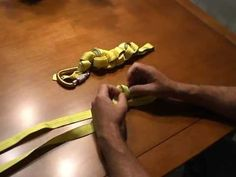 ▶ How to Tie and Store a Rescue Webbing Loop - YouTube