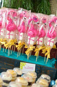Flamingo Marshmallows by The Marshmallow Studio