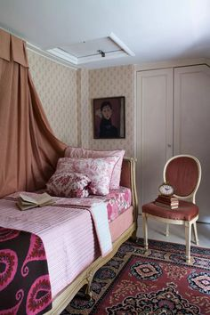 Cottagecore bedrooms: the spring trend we're predicting will last | Country English Cottage Interiors, Cottage Curtains, Period Living, Living Magazine, Scatter Cushions, Spring Trends, How To Make Bed, Bed Frame, Inspireren