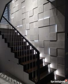 Stone Wall Design, Feature Wall Design, Wall Panel Design, 3d Wall Panels, Home Room Design, Dream Home Design, House Design, Cladding Design, Wall Cladding