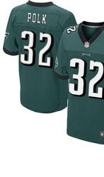 "$78.00--Chris Polk Jersey - Elite Green Home Nike Stitched Philadelphia Eagles #32 Jersey,Free Shipping! Buy it now:click on the picture, than click on ""visit aliexpress.com"" In the new page."