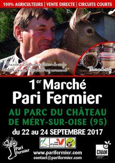 1er marché Pari Fermier au Parc du Château de Méry-sur-Oise (95)