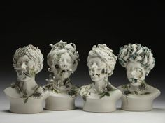 by Jess Riva Cooper #ceramic #art #flowers #kitsch