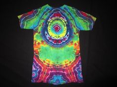 Psychedelic Geode Tie Dye T-shirt Fits Adult by PsychedelicTieDyes