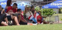 VÍDEO | Así se vivió el juego Puerto Rico vs Serbia en Bahía...