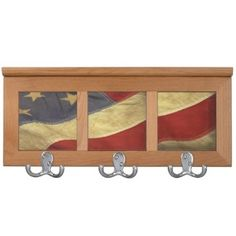 Distressed American Flag Coat Racks Distressed American Flag Coat Racks by kahmier Look at more United states Coatrack at zazzle