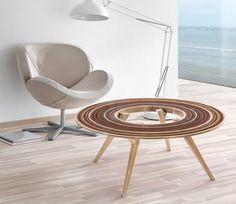 avi fedida adorns grit furniture series with sandpaper patterns - designboom | architecture