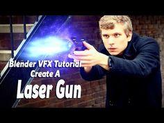 Blender VFX Tutorial: Laser Gun Effect - YouTube