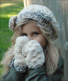 Cutest model ever! Ravelry: The Brigham Bear Set pattern by Heidi May