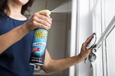 Invisible Glass EZ Grip premium glass cleaner with fine-mist spray for fewer drips! Available at The Home Depot Window Cleaning Tips, Cleaning Hacks, Invisible Glass, Mist Spray, Window Cleaner, Cleaning Tips
