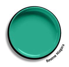 Resene Niagara is a showy peacock green, sporty and progressive. View on Resene Multi-finish palette View this and of other colours in Resene's online colour Swatch library Online Coloring, Colour Board, Color Swatches, Pool Houses, Paint Colors, Colours, Kids Bedroom, Bedroom Ideas, Peacock