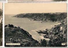 Guernsey Moulin Huet Bay Old Postcard 0353
