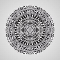 Vector Mandala Set by alexmakarova on Creative Market