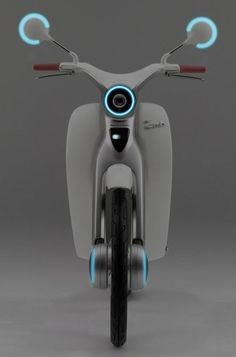 Next Generation Honda - EV Cub, when will these be seen on the streets of Saigon? Honda Cub, Scooter Design, Bicycle Design, Vespa, Gnu Linux, E Mobility, Honda Bikes, Motorcycle Design, Mini Bike