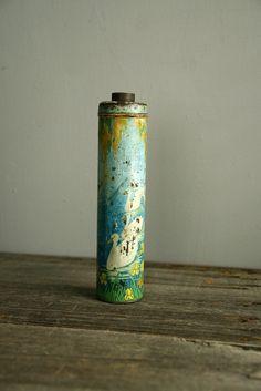 antique powder tin