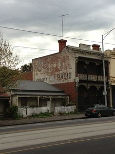 Astor Quality Radio (Building on Abbotsford Road, North Melbourne)