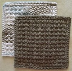 Noni's Favorite Kitchen Dishcloth - Free Knitting Pattern - (ravelry)
