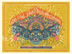 Brian Jonestown Massacre - Austin Psych Fest 2014 - by Drew Millward Type Posters, Band Posters, Festival Posters, Concert Posters, Music Covers, Album Covers, Jonestown Massacre, Ranch, Concert Flyer