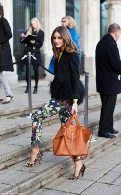 Olivia Palermo | Print pants  ACF xx