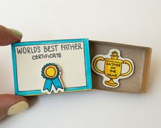 """Items similar to Mother's Day Card/ Mother's Day Gift/ Unique Gifts/ Gift for Mother/ Gift box / Message box/ Mother Card """"Mommy I love you"""" Matchbox/ on Etsy Father Birthday Gifts, Cat Birthday, Funny Birthday Cards, Mother Birthday, Engagement Gift Boxes, Engagement Cards, Funny Fathers Day Card, Funny Anniversary Cards, Cards For Boyfriend"""
