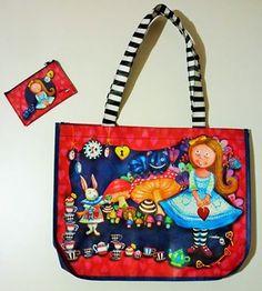 Bolsa sacola Alice .