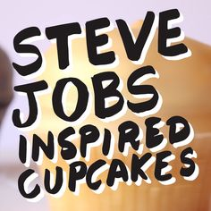 Introducing the Steve Jobs Inspired iCupcakes. Now available in Rose Gold.