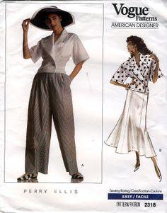 Vogue American Designer 2318 by Perry Ellis