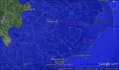 Science in the Fleet: What would your hometown look like with 80 meters Sea Level Rise [as projected with global warming]