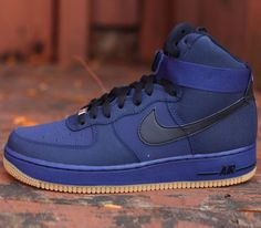 Nike Air Force 1 Hi-Midnight Navy