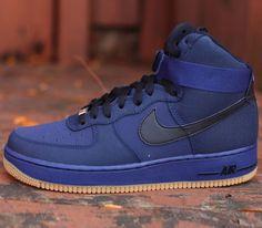 Nike Air Force 1 Hi-Midnight Navy