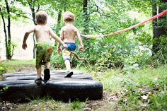 """OH!  Love this idea...a """"Mud Run"""" for kids...we could do this for an end of the year party!!  SO awesome!"""