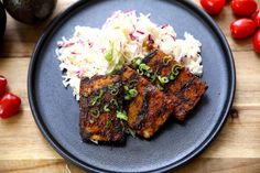 The best and easiest marinade ever – no-fuss and packed with so much flavor! You'll never need another grilled tofu recipe again! It doesn't get any easier than this recipe. And it's practically fool-proof. Vegetarian Main Dishes, Vegetarian Cooking, Easy Cooking, Vegetarian Recipes, Cooking Recipes, Grilled Tofu Recipes, Cooking Tips, Tofu Steak, Tofu Burger