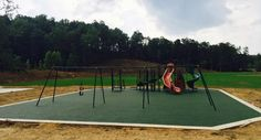 Prince of Peace Elementary School in Birmingham, Alabama now has new rubber playground surfacing! No Fault Sport Group partnered with Giffen Recreation to provide and install 4,000 square feet of No Fault Safety Surface in a pretty forest green color.