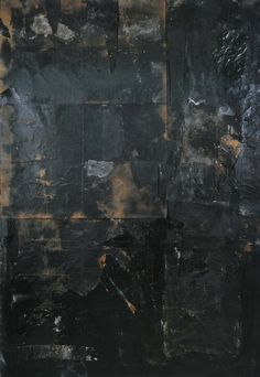 rauschenberg black paintings - Google Search