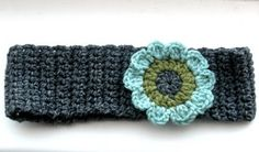 crochet...flower head band...pattern plus flower pattern