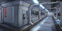 Sci Fi Corridor Research Base