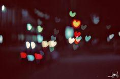 Heart Bokeh #photography #bokeh