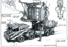 Mad Max: Fury Road  Concept Art & Model | Rocketumblr
