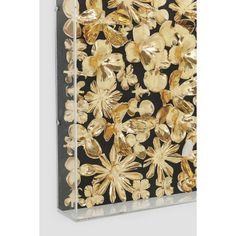 ΑΡΧΙΚΗ ΣΕΛΙΔΑ :: Διακοσμητικά Είδη :: Διακοσμητικά Τοίχου :: Διακοσμητικό Τοίχου Gold Flower 120x120cm