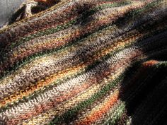 Comforting Scarf  by Feralknitter,,,,free pattern