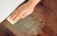 Are your hardwood floors covered in scratches? If they don't go all the way through to the wood, you can save time and money by applying a fresh coat of finish. Learn how to refinish your wood floors with this step-by-step guide from This Old House today! Scratched Wood Floors, Old Wood Floors, Cleaning Wood Floors, Clean Hardwood Floors, Refinishing Hardwood Floors, Engineered Hardwood Flooring, Plank Flooring, Floor Refinishing, Hardwood Floor Scratches