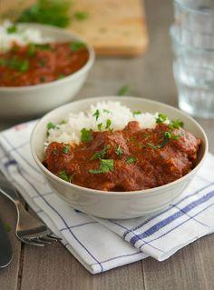 Easy Healthier Crock-Pot Chicken Mole