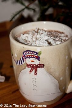Yep - there is a National day of celebration for that cup of warm goodness, Cocoa! But don't confuse hot cocoa with hot chocolate. They aren't the same!