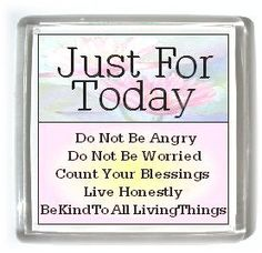 Reiki Magnet 5 Principles of Reiki Just for Today