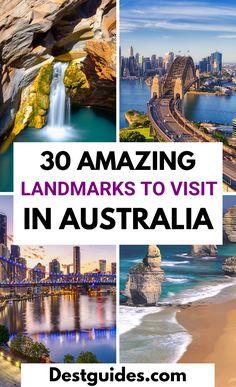 Perth, Brisbane, Melbourne, Sydney, Australia Travel Guide, Australia Places To Visit, Australia Trip, Famous Monuments, Famous Landmarks